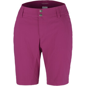 Columbia Saturday Trail Long Shorts Damen wine berry